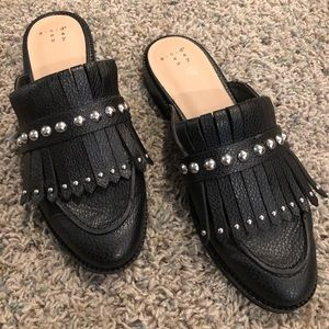 A new day slide on mules